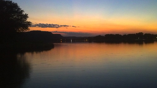 Lake Winona at dusk
